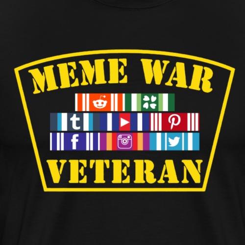 Meme War Veteran - Men's Premium T-Shirt