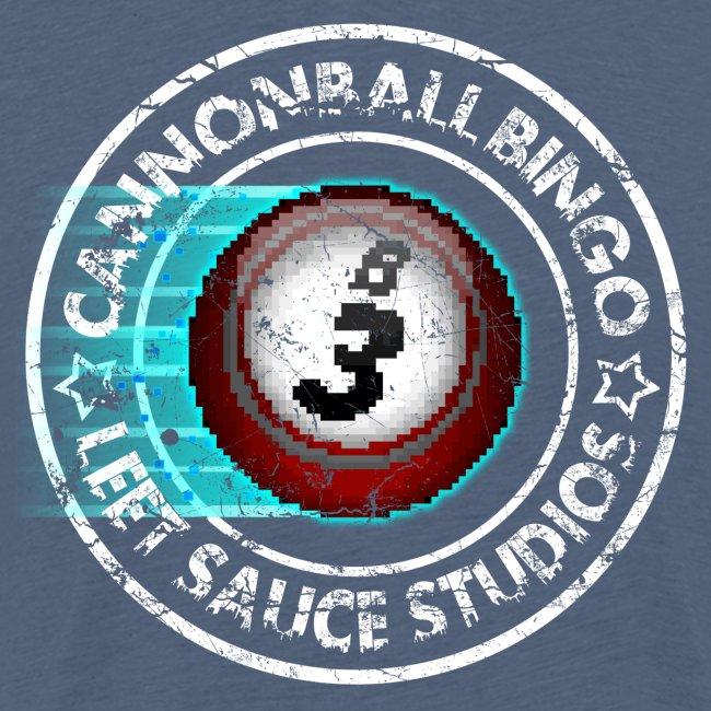 Vintage Cannonball Bingo 8-Bit Ball Tee