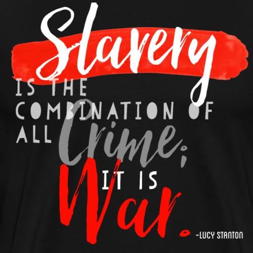 Lucy Stanton White (Red Series) - Men's Premium T-Shirt