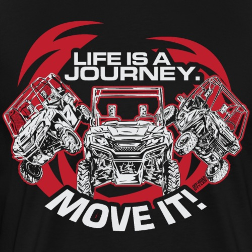 UTV Racing Life Journey - Men's Premium T-Shirt