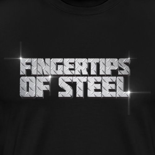 Fingertips of Steel - Men's Premium T-Shirt