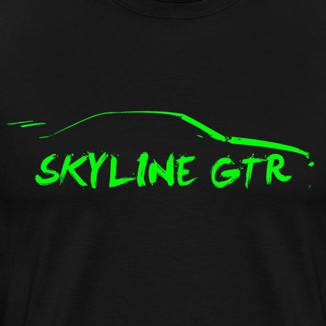 Skyline Outline - Green