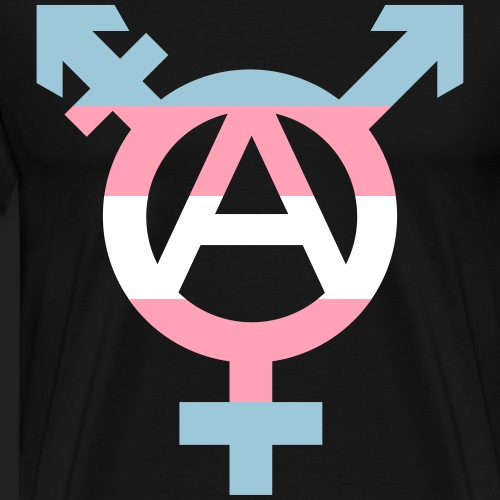 Tranarchy 3 color - Men's Premium T-Shirt