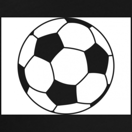 Hearth shaped soccer ball - Men's Premium T-Shirt
