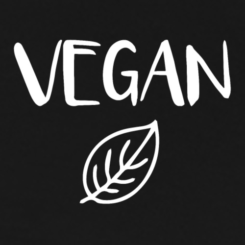 Vegan With Leaf - Men's Premium T-Shirt