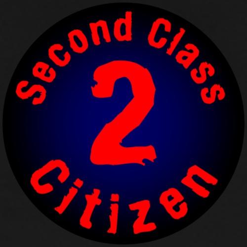 2nd Class Citizen Logo (Dark) - Men's Premium T-Shirt