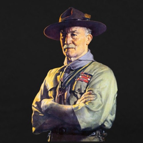 Robert Baden Powell (Small) - Men's Premium T-Shirt