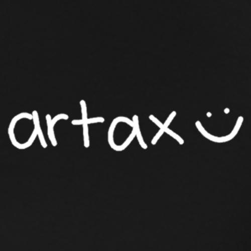 artax (smile) - white - Men's Premium T-Shirt