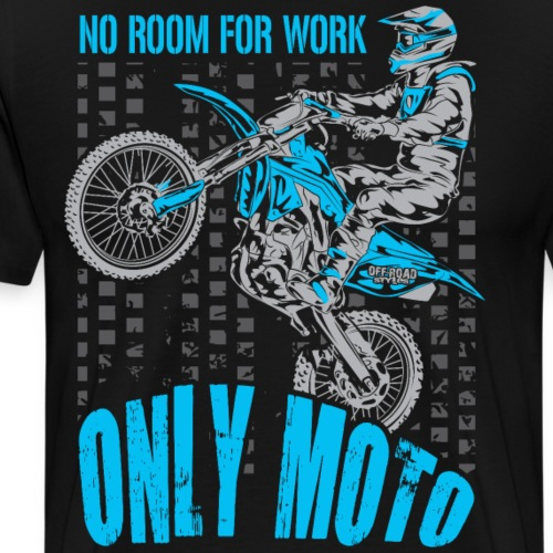 Dirt Biker Only Moto Yamaha - Men's Premium T-Shirt