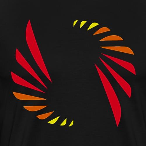 Hot Colors Logo - Men's Premium T-Shirt