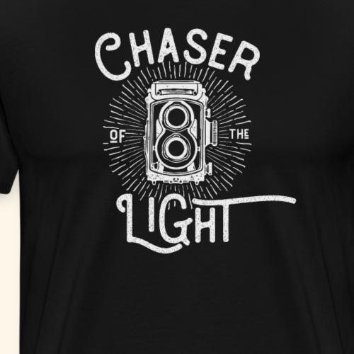 Analog photography, vintage camera, Retro Camera - Men's Premium T-Shirt