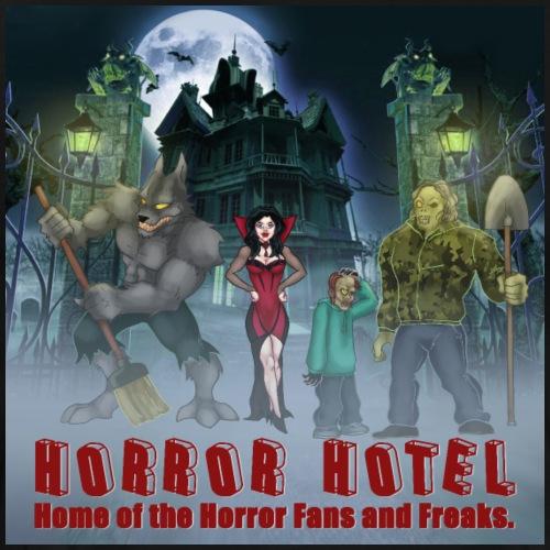 Horror Hotel Poster - Men's Premium T-Shirt