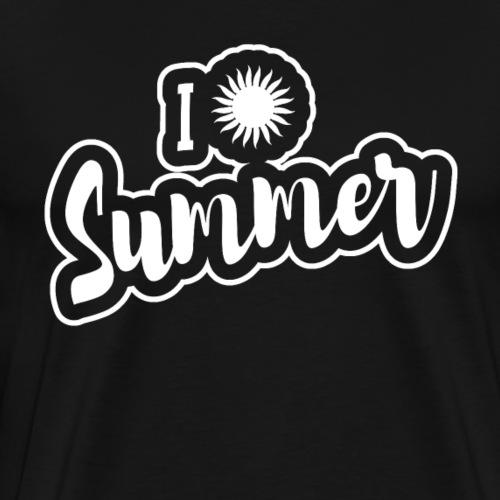 I love Summer Gift Sunshine - Men's Premium T-Shirt