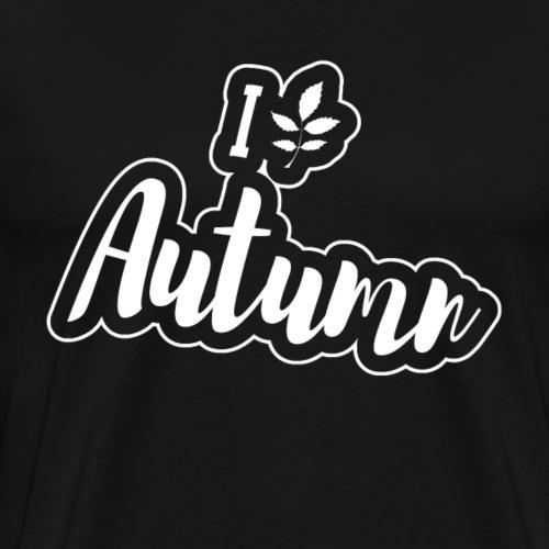 I love Autumn Gift September - Men's Premium T-Shirt