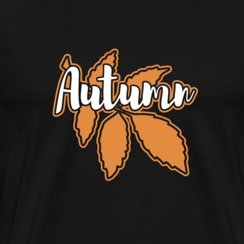 Autumn Leaf Gift - Men's Premium T-Shirt