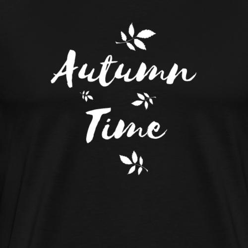 Autumn Time Giftidea - Men's Premium T-Shirt