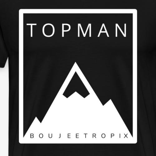 top man white - Men's Premium T-Shirt