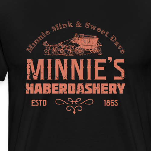 The Hateful Eight - Minnie's Haberdashery - Men's Premium T-Shirt