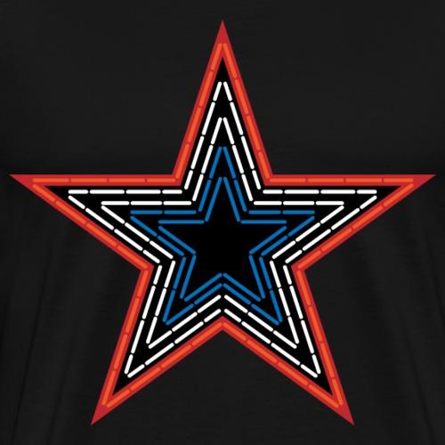Roanoke Virginia Pride Mill Mountain Star - Men's Premium T-Shirt