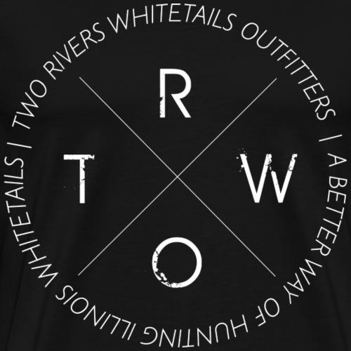 TRWO WHITE - Men's Premium T-Shirt