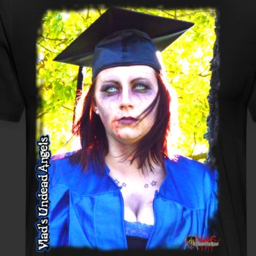 Live Undead Angels: Zombie Graduate - Men's Premium T-Shirt