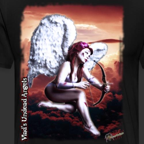 Live Undead Angels: Zombie Cupid Scarlet 2 - Men's Premium T-Shirt