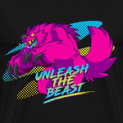 - Unleash the Beast - - Men's Premium T-Shirt