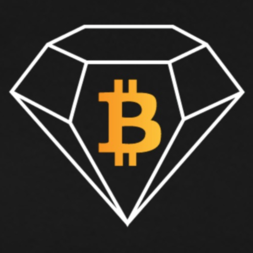 Bitcoin Diamond - Men's Premium T-Shirt