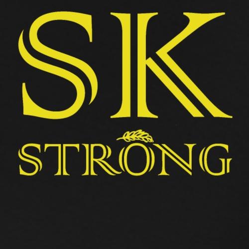 SK STRONG Gold - Men's Premium T-Shirt