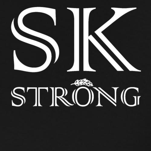 SK STRONG White - Men's Premium T-Shirt