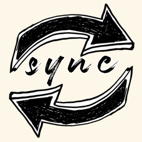 SYNC logo - Men's Premium T-Shirt