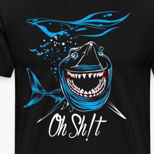 oh shit - Men's Premium T-Shirt