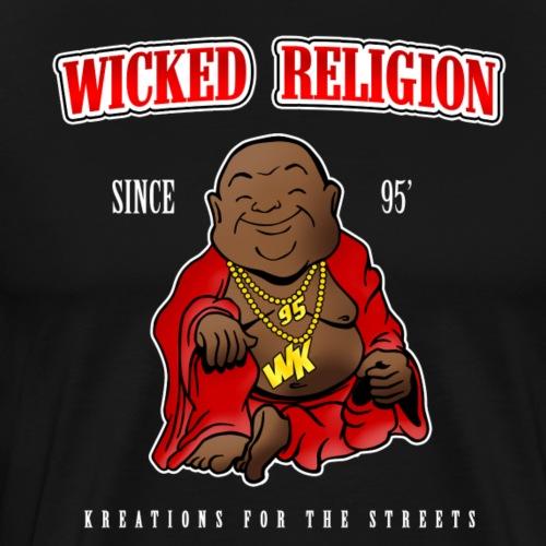 Wicked Religon Logo - Men's Premium T-Shirt