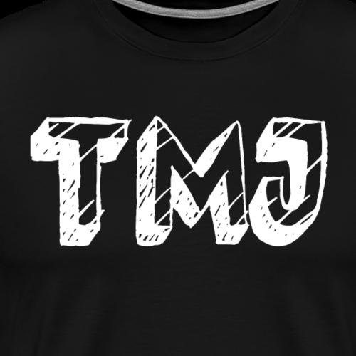 TMJ cartoon font - Men's Premium T-Shirt