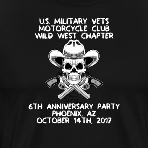 Wild West 6th Anniversary Party - Men's Premium T-Shirt