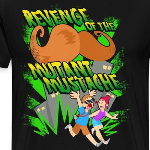 Mutant Mustache - Men's Premium T-Shirt