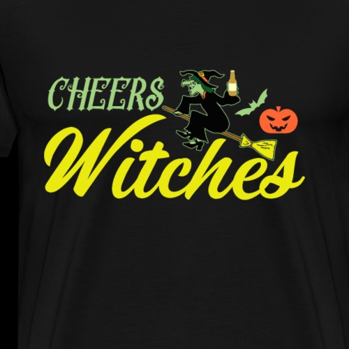 Cheers Witches! | Halloween Drinks - Men's Premium T-Shirt