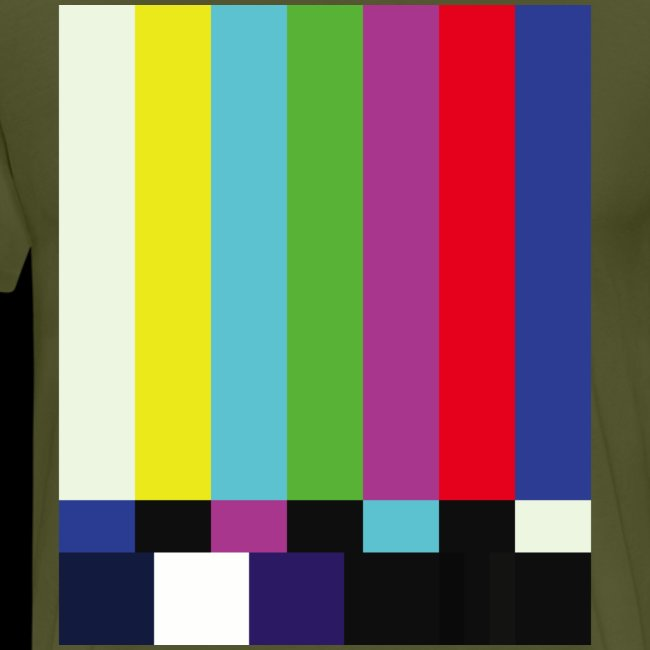 This is a TV Test   Retro Television Broadcast