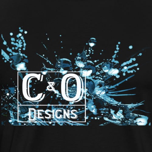 water drops - Men's Premium T-Shirt