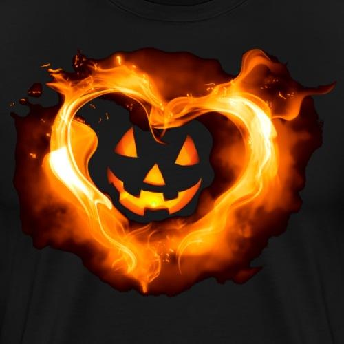 Halloween Heart - Men's Premium T-Shirt