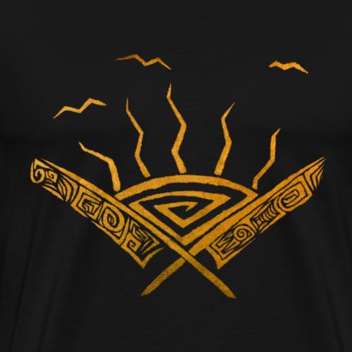 Sunset On The Horizon - Men's Premium T-Shirt