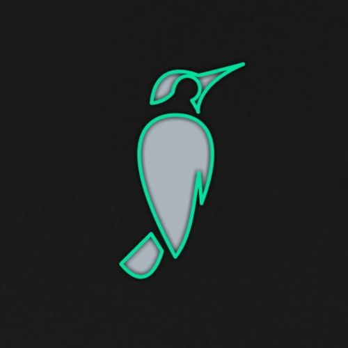 SPARROW Designs - neon green - Men's Premium T-Shirt