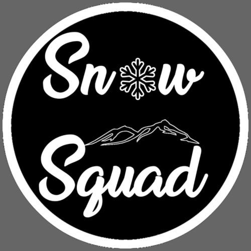 Black SnowSquad Logo - Men's Premium T-Shirt