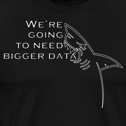 Bigger data - Men's Premium T-Shirt