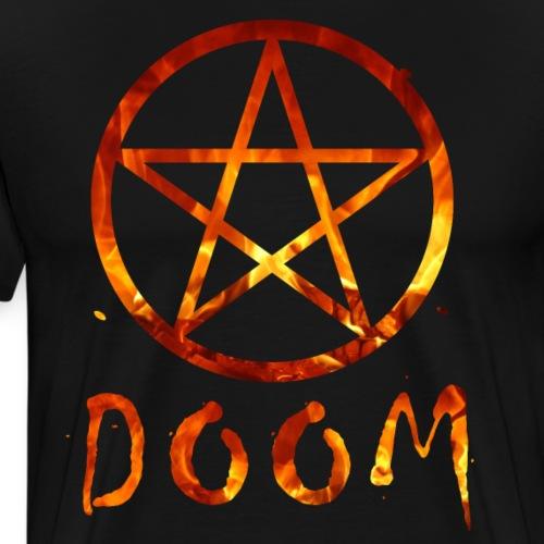 DOOM DOOM DOOM Pentagram pentagram - Men's Premium T-Shirt