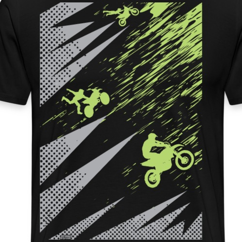 Motocross Dirt Bike Apparel - Men's Premium T-Shirt