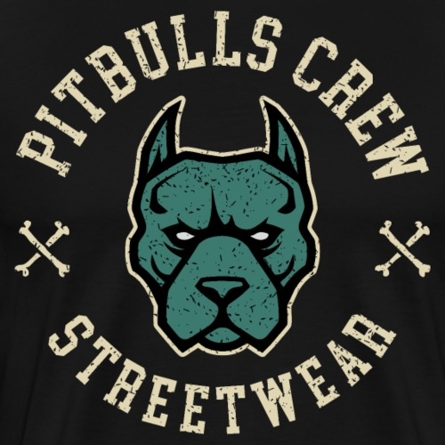 pitbull street - Men's Premium T-Shirt