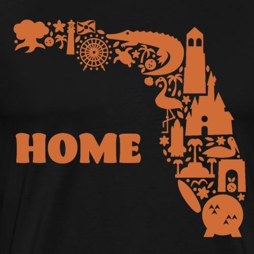 Home-Orange - Men's Premium T-Shirt