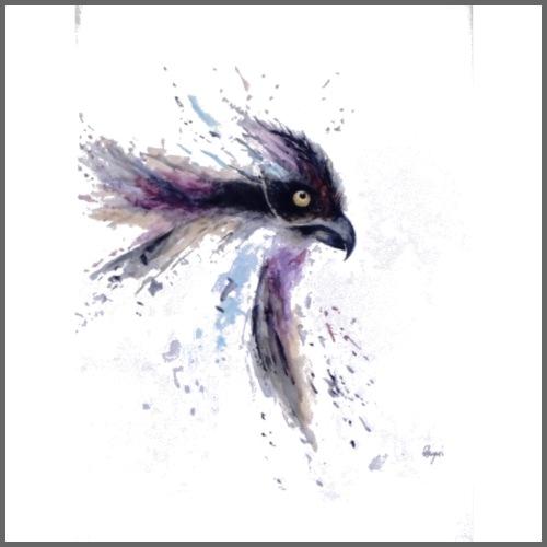 Watercolour Raven - Men's Premium T-Shirt