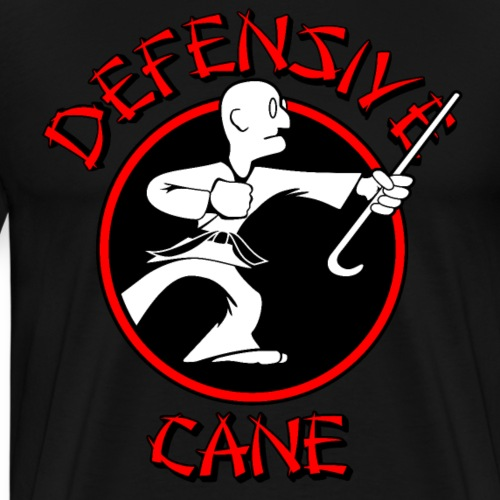 Defensive Cane - Men's Premium T-Shirt